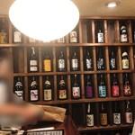 粋なおつまみとお酒 にこ - お酒種類めっちゃあるーーー❣️