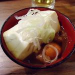 11304002 - 「鶏モツの煮込み(小)」たしか320円也。