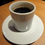 北の味紀行と地酒 北海道 - ドリンクバーにはホットコーヒーもあります(^^)