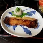 御食事処 朱鷺 - カレイの西京焼き