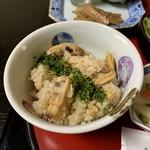 御食事処 朱鷺 - あさりの炊き込みご飯