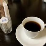 御食事処 朱鷺 - 食後にホットコーヒーも