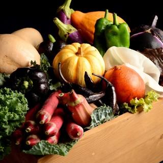 野菜に拘り、生産者と御客様を繋ぐ