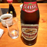 京ばし松輪 - 瓶ビール550円