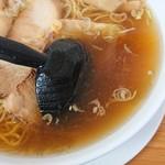 支那ソバ へいきち - スープ