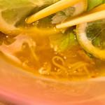 らぁ麺 レモン&フロマージュ GINZA -