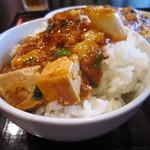 中華料理 虎哲 - オン・ザ・ライスで。