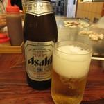 千恵 - 瓶ビール(中瓶) 600円 (2019.8)