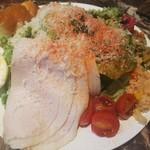 グランコントワー - サラダランチ1000円 お腹はすきましたが美味しいです!