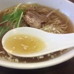 阿佐 - ひと口飲んで黙ってしまった とても上品で美味しいスープ