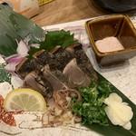 炉端 小次郎 - 鰹の藁焼き