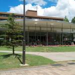 マーメイドカフェ - ガラス張りの開放的な建物