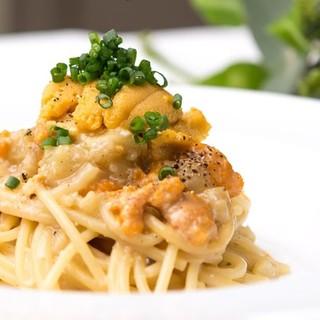 季節感や料理の香りを大事にした、和洋折衷のイタリアン。