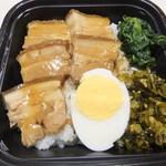 11307881 - 豚肉の角煮丼 【 2012年1月 】