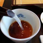 蕎庭 - 蕎麦湯