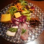113073489 - 前菜5種類・サラダ盛り合わせ
