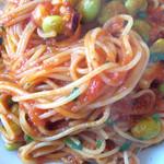 Tanterisa 笑多 - 蛸と枝豆のトマトソース