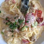 Tanterisa 笑多 - グリルチキンと野菜のクリームソース