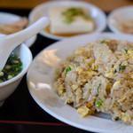 中華料理 聚仙閣 - チャーハン定食