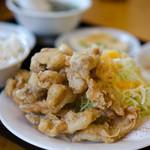 中華料理 聚仙閣 - 日替わり定食(鶏天)
