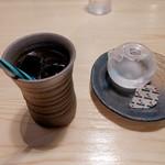 三重の海鮮市場 豊和丸 - 食後のコーヒー付いてます