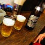 姫らーめん - またまたビール(笑)