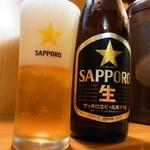 優勝軒 - サッポロ瓶ビール