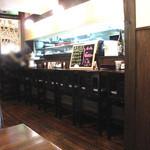 食季楽 風香 - 夜は海鮮居酒屋さんになります。もちろん、普通の居酒屋メニューや焼鳥もあります。西鉄・高宮駅より徒歩5分。