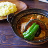 スパイス ポット - 料理写真:チキンと野菜のカレー