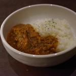 五○堂 - 料理写真:鰤キーマカレー