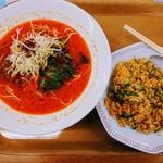 113094106 - 担々麺&炒飯