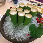 113094442 - 食前酒ー白桃と豆乳ジュース