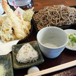 そば香ろあん - 料理写真:天せいろ1400円