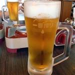 食房 杵 - 生ビール