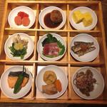 百膳 - 「9種のおばんざい膳」