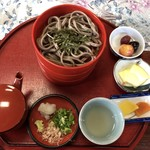きたみち庵 - 割子蕎麦