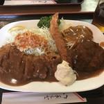 洋食 キャベツ - Bセット。これで1050円!安い∑(゚Д゚)