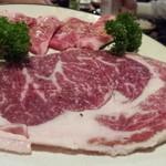 にく家 牛円 - ヒレ肉も脂がのって美味