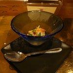 イル テアトリーノ ダ サローネ - 前菜3:インサラータ ディ スカンピ(2012.1)