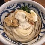 麺匠 釜善 - 今日のおうどん「とり天タルタルぶっかけ」麺3玉 800円