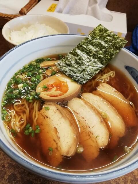 ぼにしも - チャーシュー麺¥850
