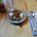 Mangotsurikafe - ランチのサラダ