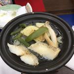 菊水 - 魚のバターソテーです