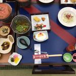 菊水 - 朝食は生卵食べ放題でした