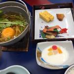 菊水 - 朝食からお鍋が有ります
