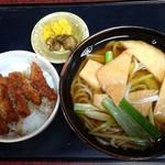 113108181 - ソースカツ丼