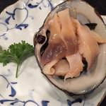 Magokoro - 活ホッキ刺身
