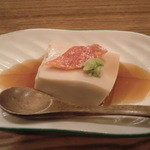 11311935 - お通しの胡麻豆腐