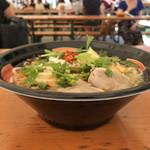 チャオエムカフェ - 丼はわりと大きめ(激辛グルメ祭り2019)