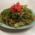 北京亭 - 焼きそば!味付けはシンプル。青のりの風味がいい!